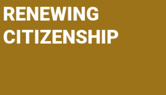 Renewing Citizenship